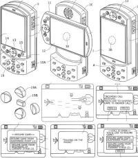 PSP Phone Patent diagrams