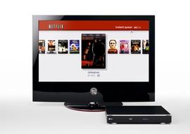 LG BD300 Blu-ray Disc Player Netflix Instant Queue navigation