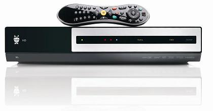 TiVo HD XL with Glo remote