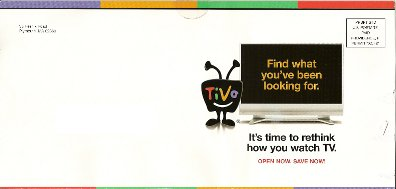 Comcast TiVo mailer cover 2