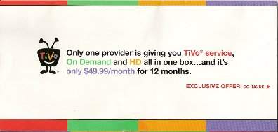 Comcast TiVo mailer cover 3