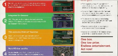 Comcast TiVo mailer inside 2