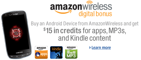 Amazon Wireless Digital Bonus