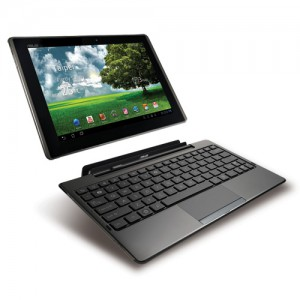 Asus Eee Pad Transformer with keyboard
