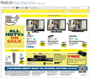 Best Buy Free Slide Remote Ad