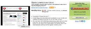 Kindle Gizmo Lovers