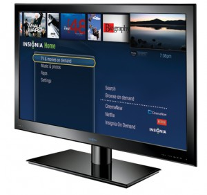 Insignia Connected TV Menu UI