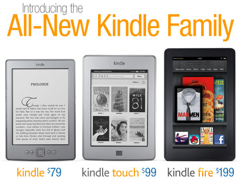 Amazon Kindle Family