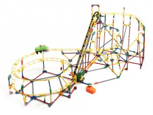 KNex Hot Shot! Video Coaster