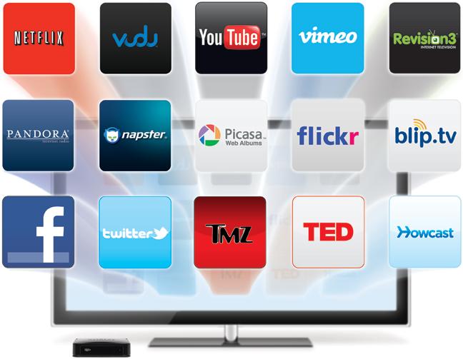 Netgear NeoTV NTV200 App Selection
