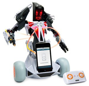Erector Spykee Vox Robot