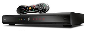 TiVo Premiere XL4 with remote - angle