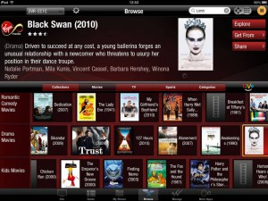 Virgin Media TiVo iPad App 1