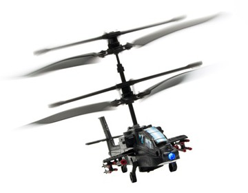 World's Smallest Apache 3CH Mini Helicopter