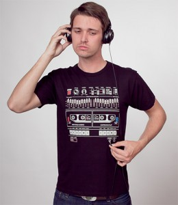 Headline Shirts Boombox T-shirt male