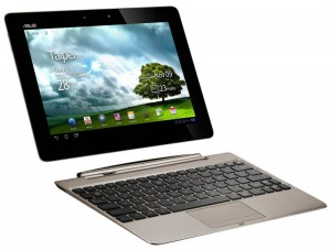ASUS Transformer Prime with Dock - Front