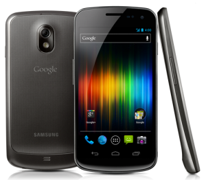 Galaxy Nexus three view