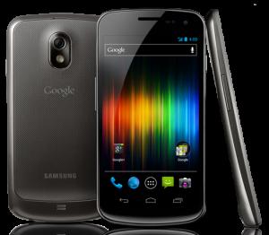 Galaxy Nexus three view