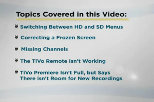 Charter TiVo Premiere from Charter- Help & Troubleshooting - Video 1