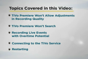 Charter TiVo Premiere from Charter- Help & Troubleshooting - Video 2