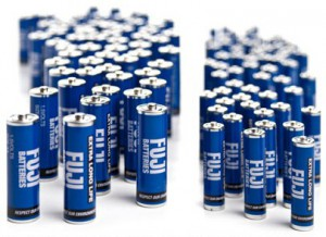 Fuji Extra Long Life Heavy-Duty Batteries