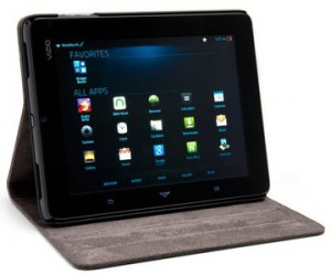 Vizio 8 Android Tablet with Wi-Fi and Folio Case