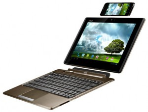 ASUS PadFone Station with keyboard