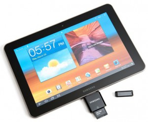 Samsung Galaxy Tab 10.1 w SD Card Reader
