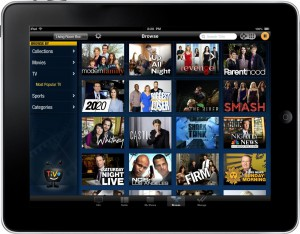 TiVo iOS 1.9 Browse - iPad