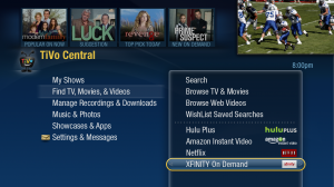 TiVo Central Comcast XFINITY On Demand